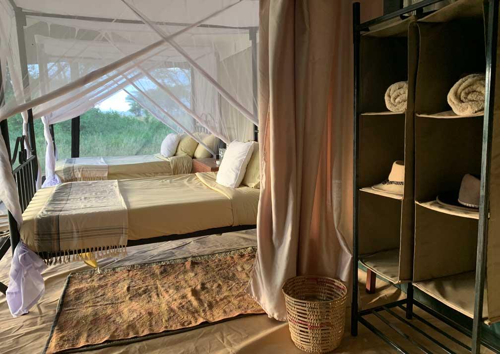 Kirurumu Serengeti Camp storage space