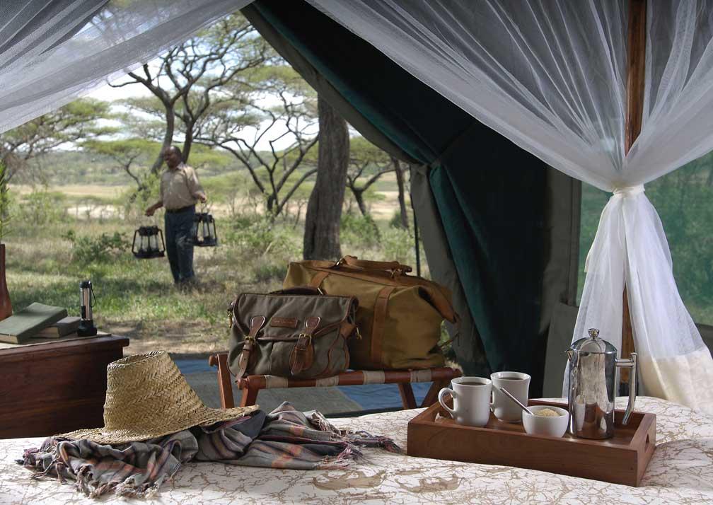 Kirurumu Serengeti Camp lampman