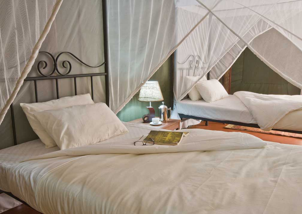 Bedroom at Kirurumu Tarangire Lodge