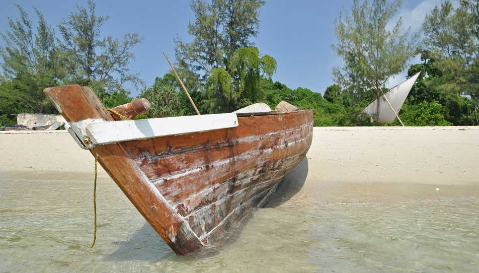 dhow-moored