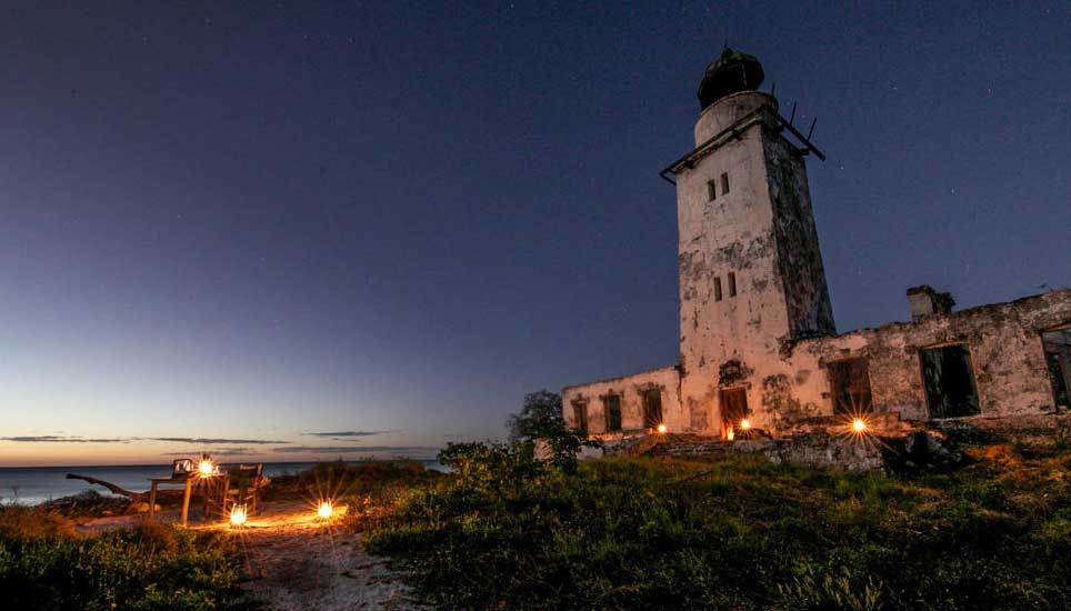 Fanjove island lighthouse
