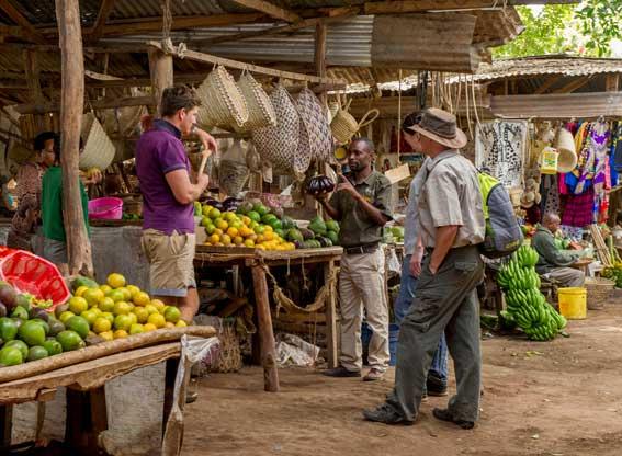 Manyara-serena-market-visit