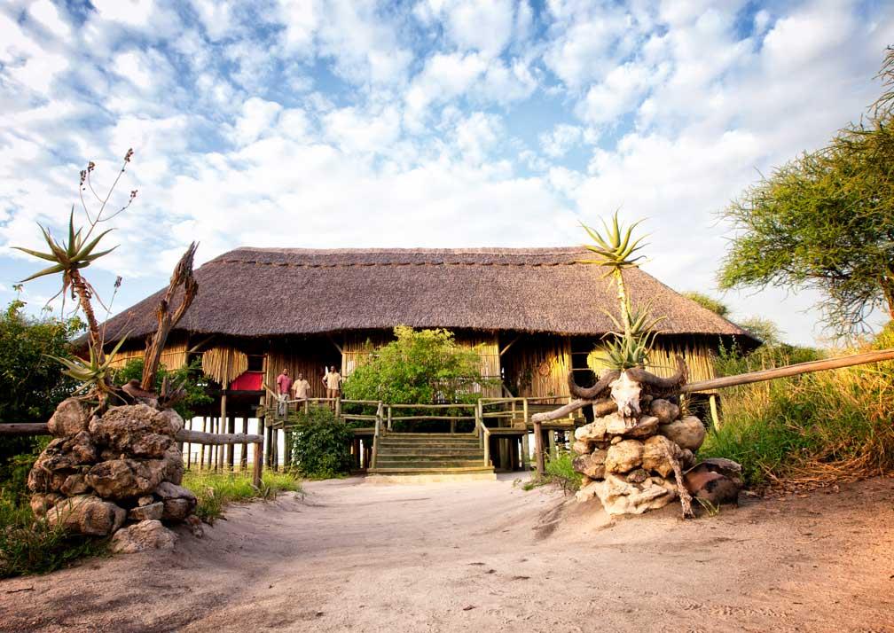 The lounge at Mbali Mabli Tarangire River Camp