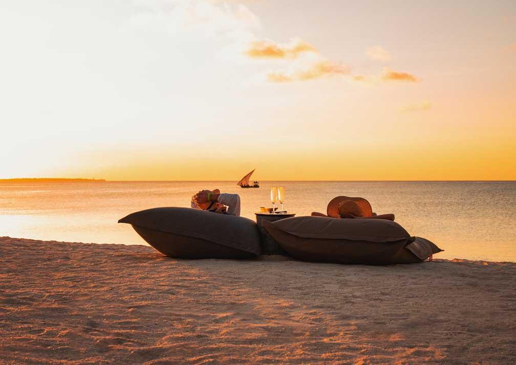 Zuri Zanzibar sundowners