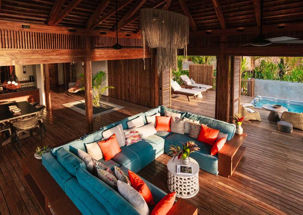 Villa lounge