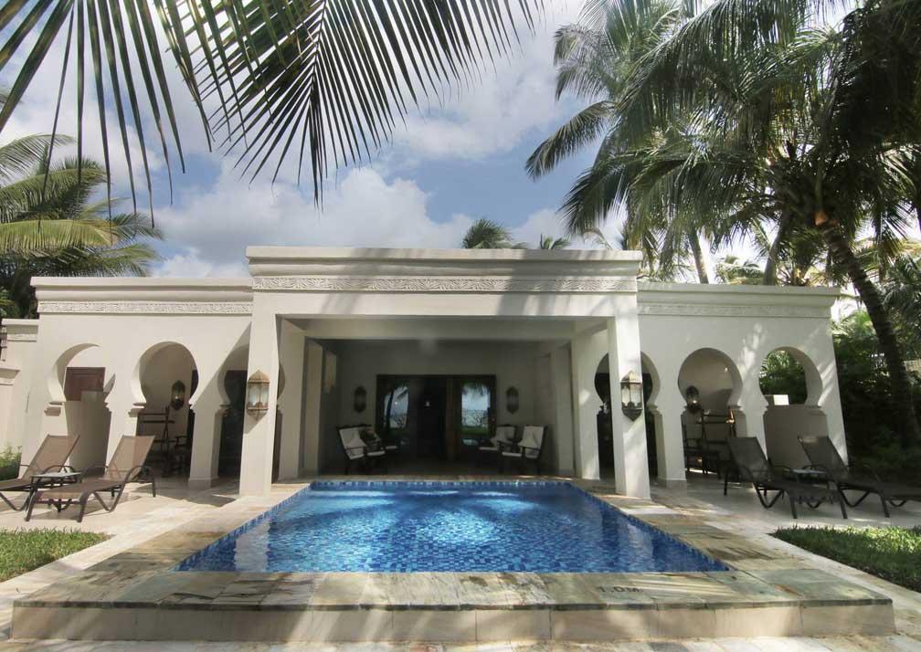 Presidential villa