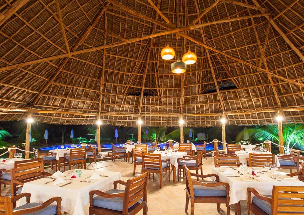 Kisiwa on the Beach restaurant