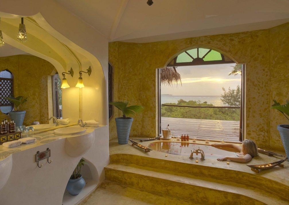 Matemwe Retreat bathroom