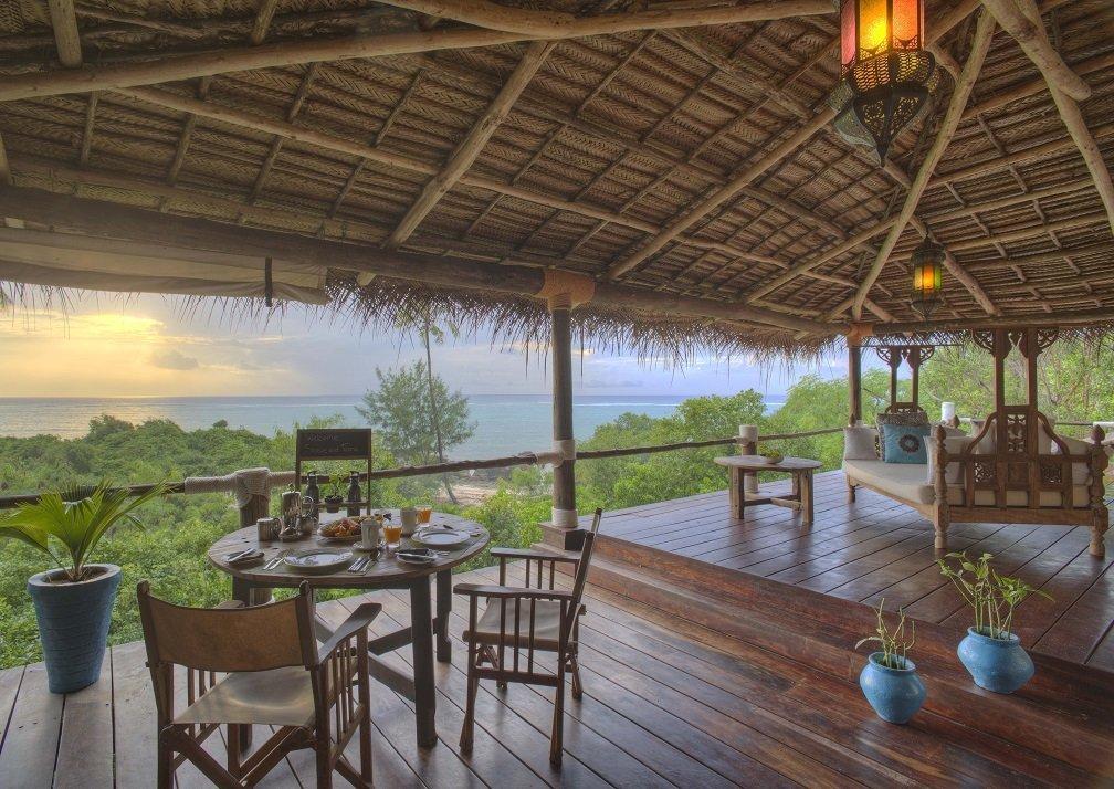 Deck at Matemwe Retreat