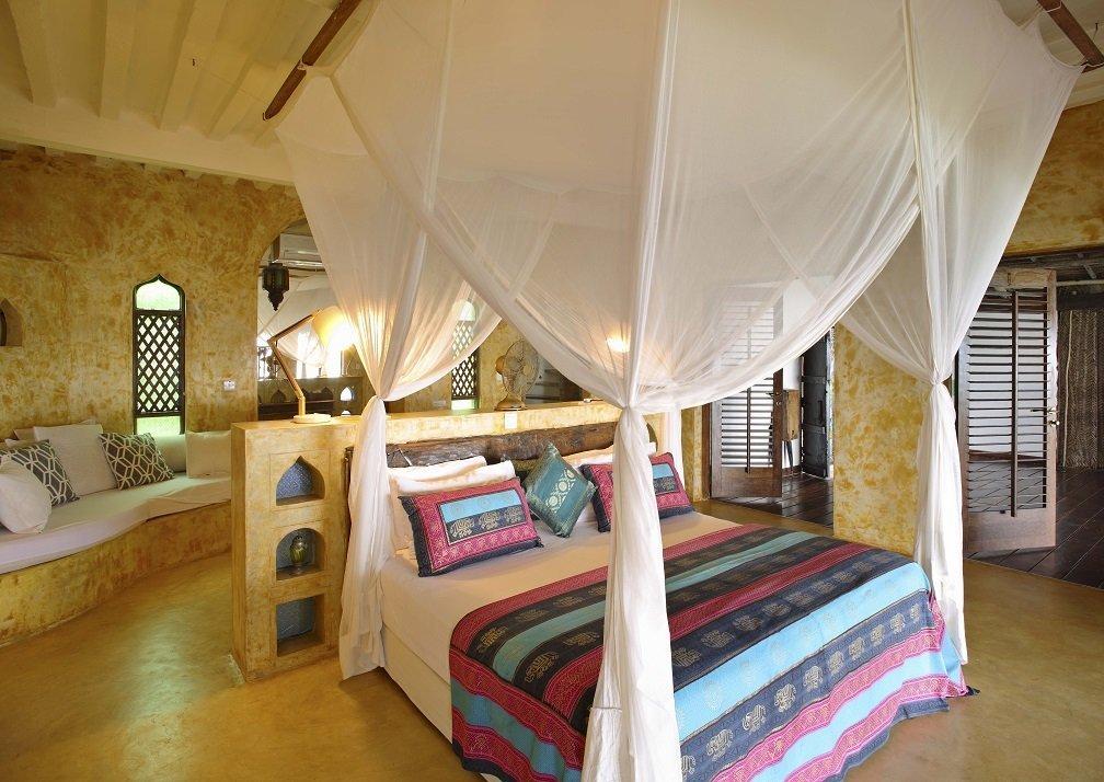 Matemwe Retreat villa bedroom
