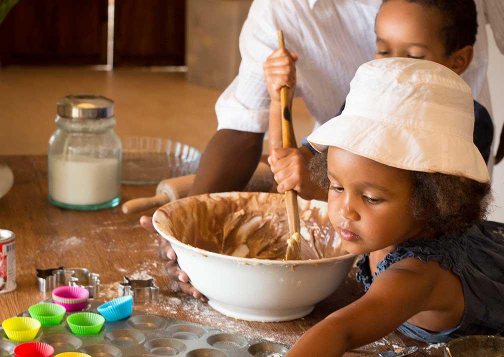 Children are welcome at Qambani