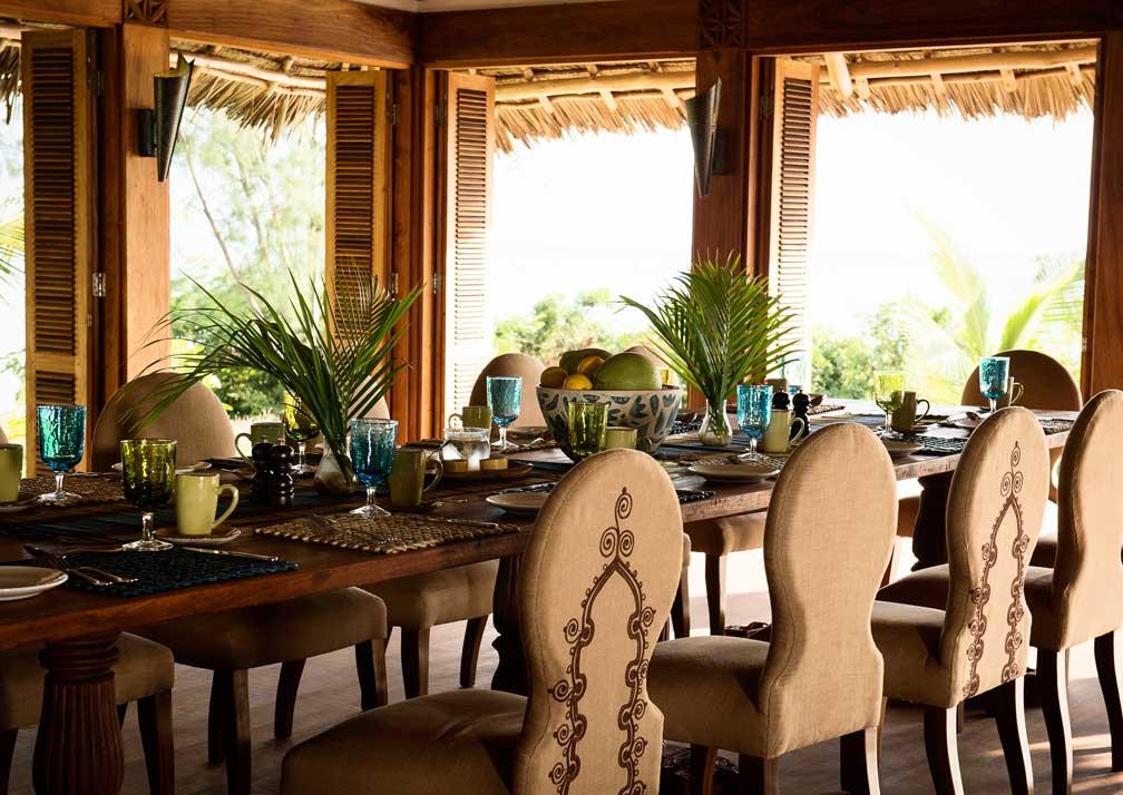 Qambani dining room