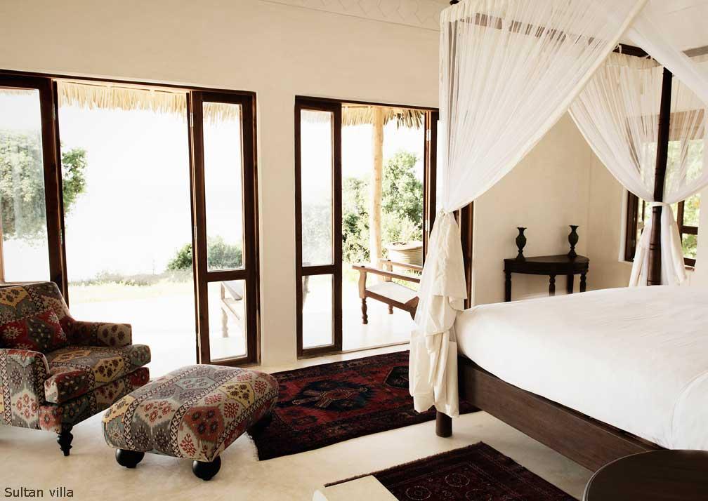 Sultan Villa bedroom