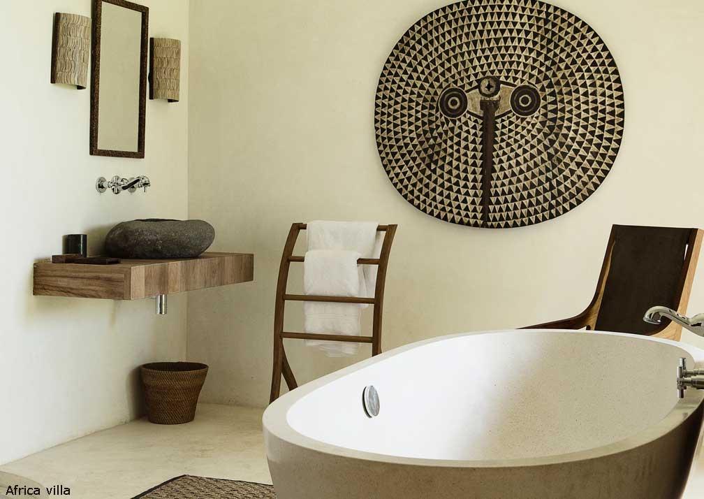 Africa villa bathroom