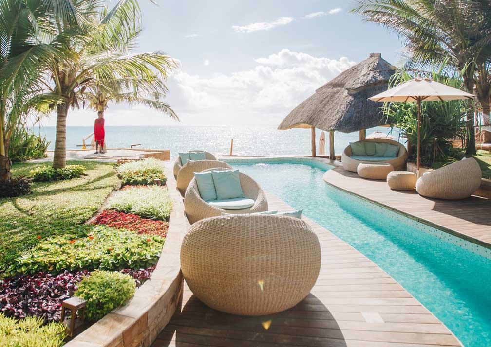 Tulia Zanzibar pool terrace