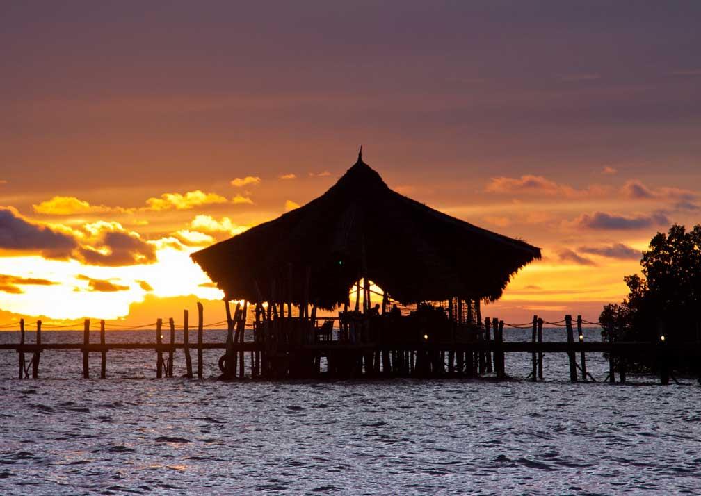 Funda lagoon sunset