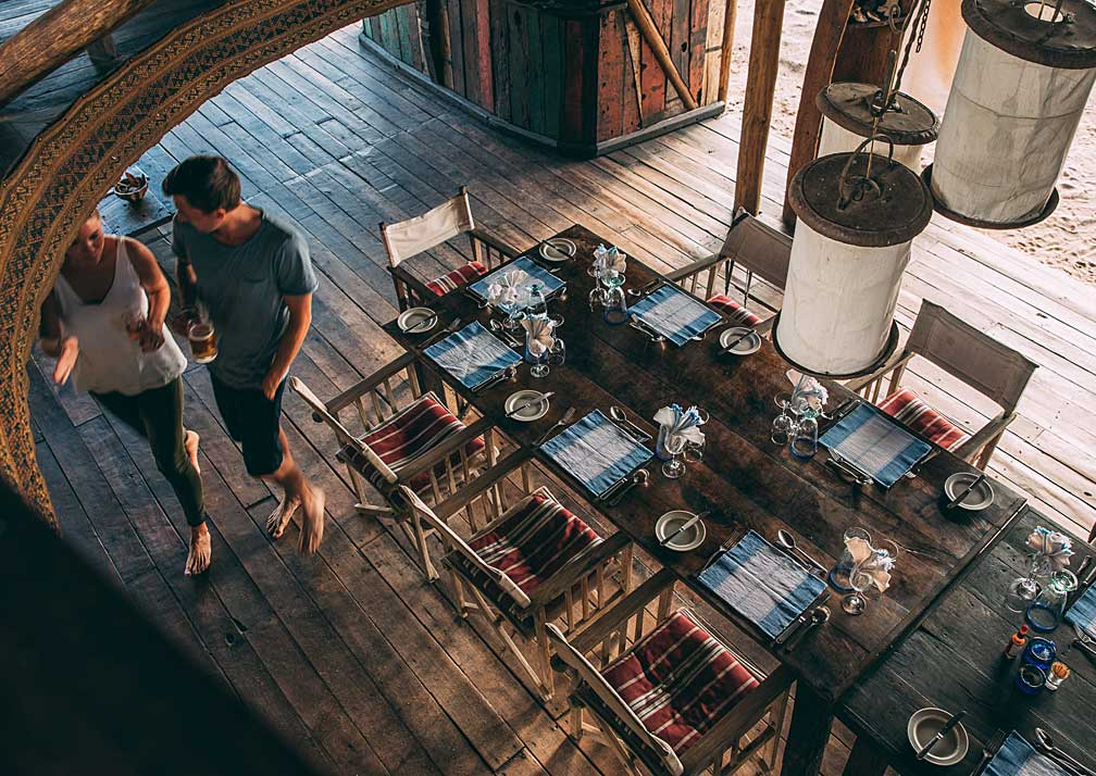 greystoke dining room