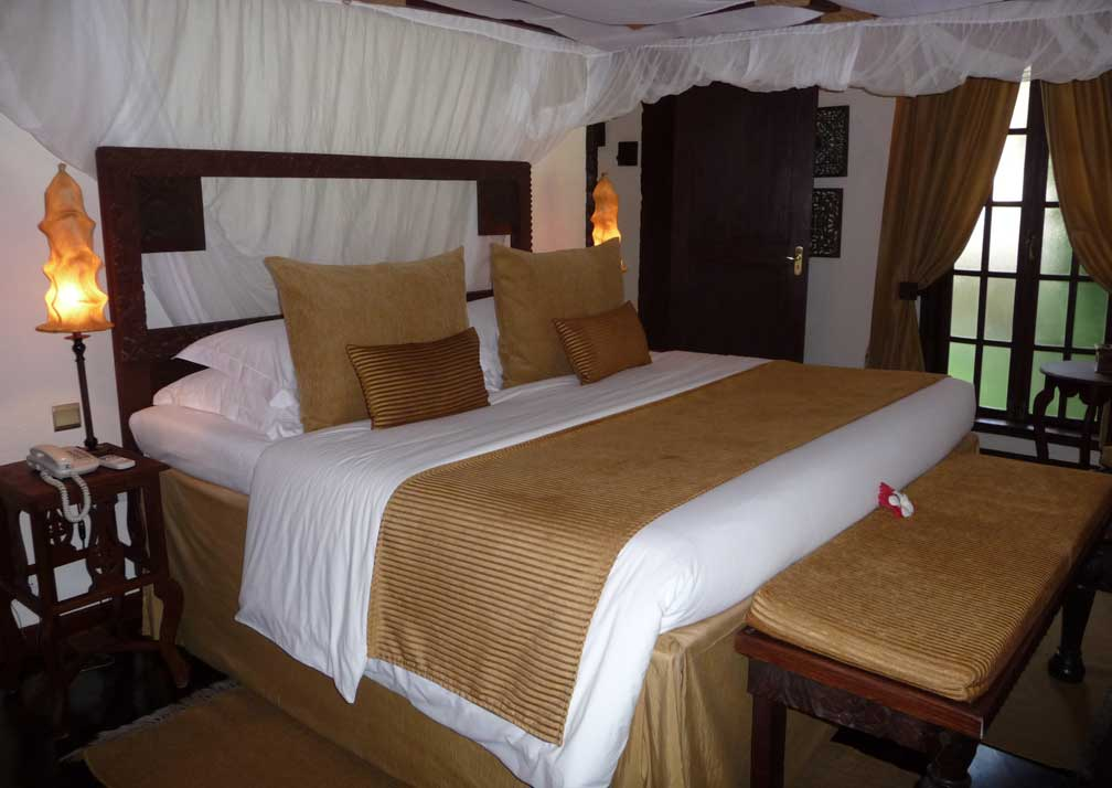 The Palms double bedroom