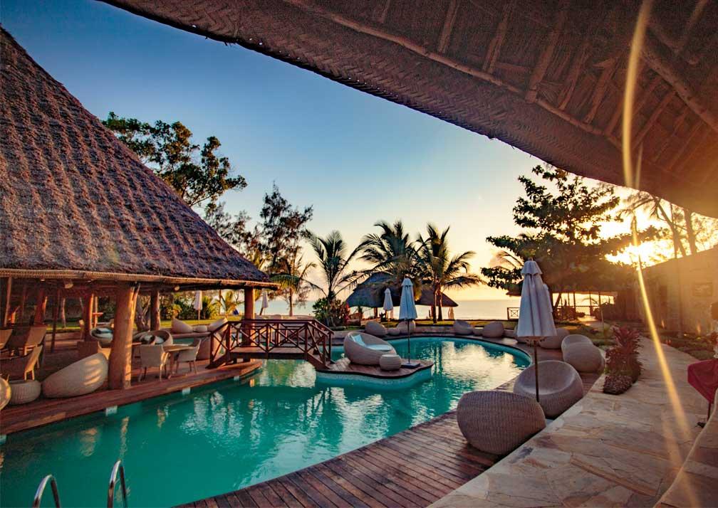Tulia Zanzibar poolside