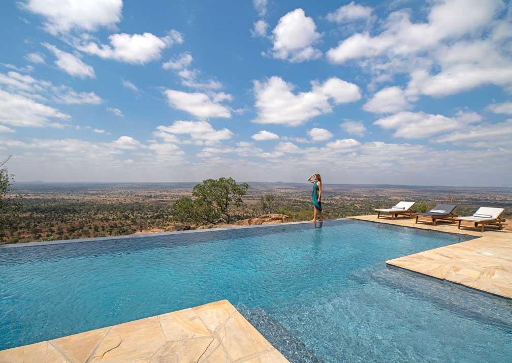 Lemala Mpingo Ridge infinity pool